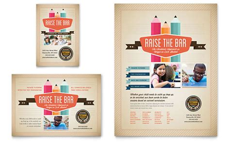 education training flyer templates designs