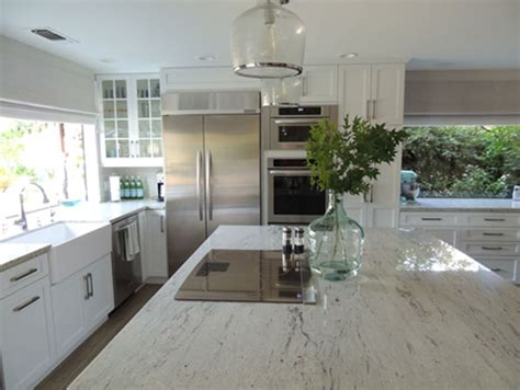 white cabinets with river white granite river white granite transitional kitchen k sarah designs
