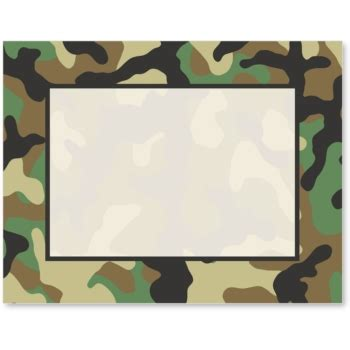 free printable army stationery paper camouflage postcards paper direct