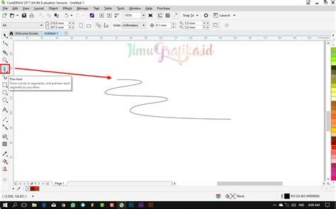 tutorial membuat vektor dengan corel draw tutorial coreldraw vektor membuat banner pita dengan
