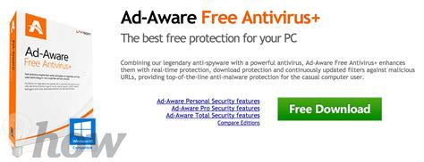best adware malware remover ad aware free antivirus and free antispyware top