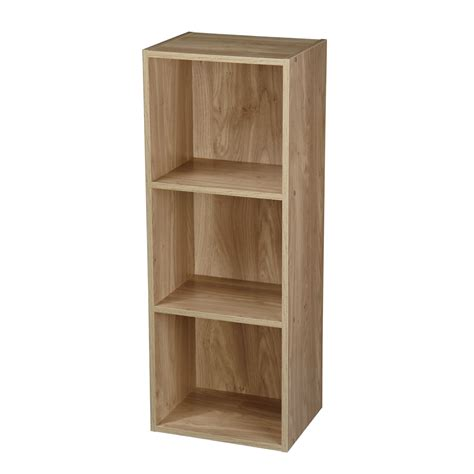 Wooden Bookshelf by 1 4 Tier Wooden Bookcase Bookshelf Shelving Storage