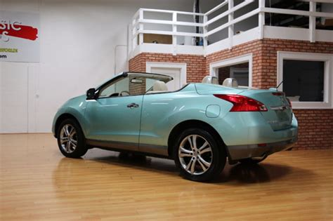 nissan awd convertible 2011 nissan murano awd convertible crosscabriolet for sale