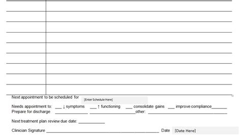 patient progress notes template word patient progress notes template word excel tmp