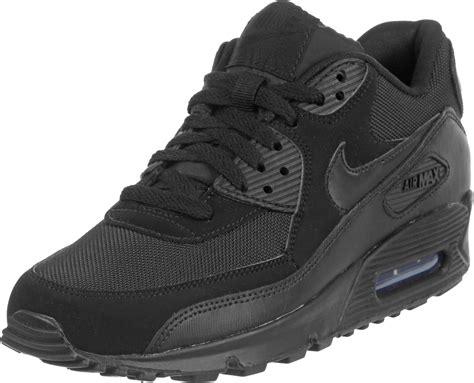nike air max 90 le shoes black