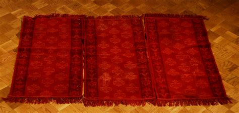 tappeti meccanici tre tappeti meccanici xx secolo antiquariato e dipinti