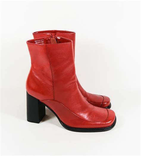 Zip Up High Heel Ankle Boots womens bruno valenti danny leather high heel zip up
