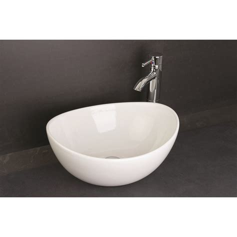 Shell Vanity Basin Sit On from RAK Ceramics, Only £69.99