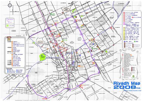 map of riyadh city riyadh map and riyadh satellite image