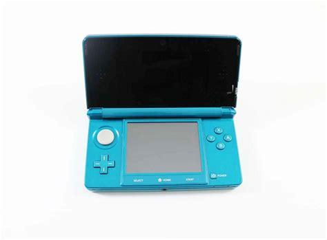 Nintendo 3ds Aqua Blue Small nintendo 3ds system aqua blue