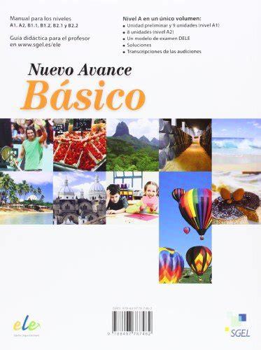 nuevo avance intermedio exercises 8497787536 nuevo avance basico exercises book cd a1 a2 piedad zurita