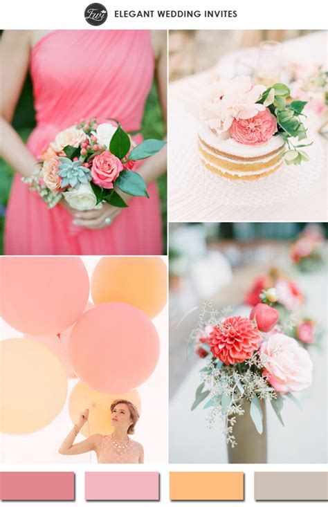 10 wedding color ideas for spring 2015 trends