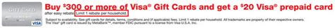 Can I Buy Vanilla Gift Card With Credit Card - 500 one vanilla gift cards from cvs or 200 visa gift cards from staples