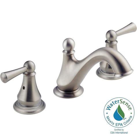 bathtub faucet assembly delta haywood 8 in widespread 2 handle bathroom faucet