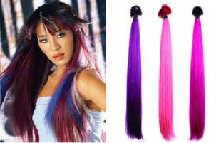 colored hair extensions clip in color clip in hair extensions hair weave