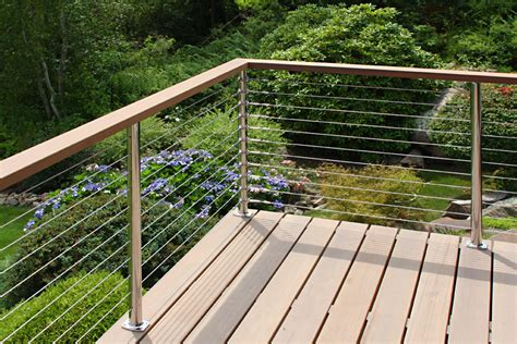 wire banister stainless steel railing photo gallery atlantis rail systems