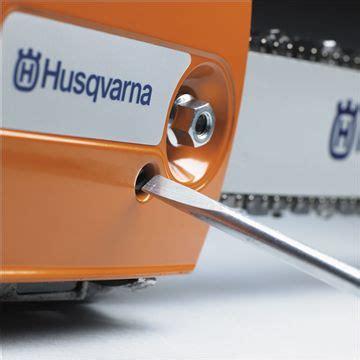 Husqvarna 435 Kettenschmierung Einstellen by Husqvarna Chainsaws T435