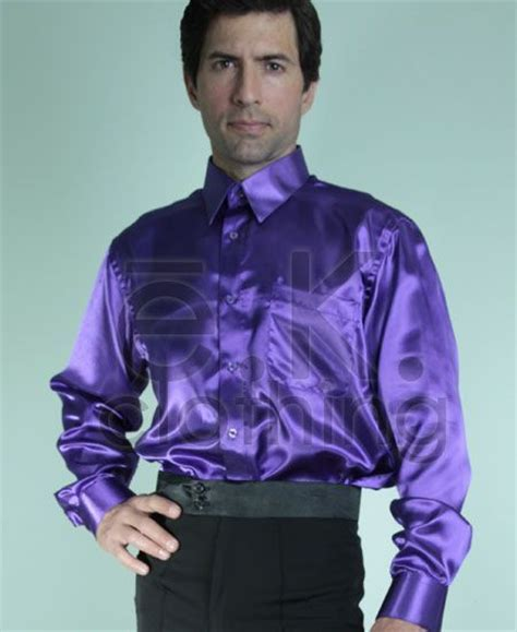 chicagodancesupply e k clothing s satin shirt
