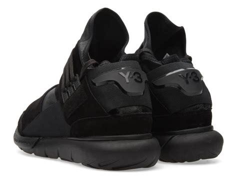 Sepatu Adidas Y3 Qasa High Black adidas y3 qasa high black leather sole collector