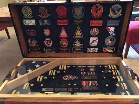 antique trunk   usaf  air force  army