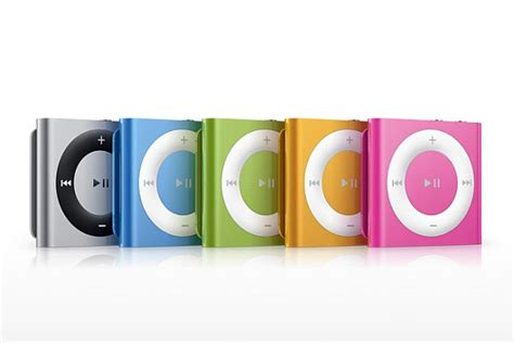 Apples Ipod Shuffle Now Out In A Selection Of Colours by Apple Ipod Shuffle 2010