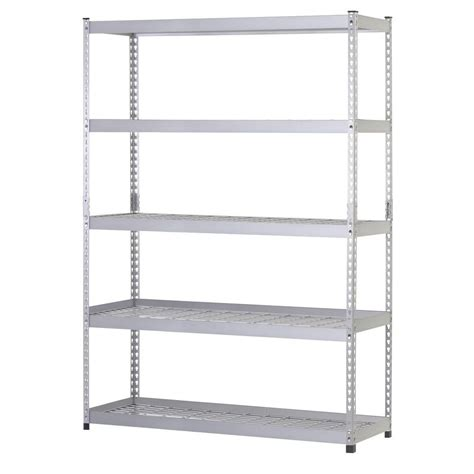 husky 78 in h x 48 in w x 24 in d 5 shelf steel unit