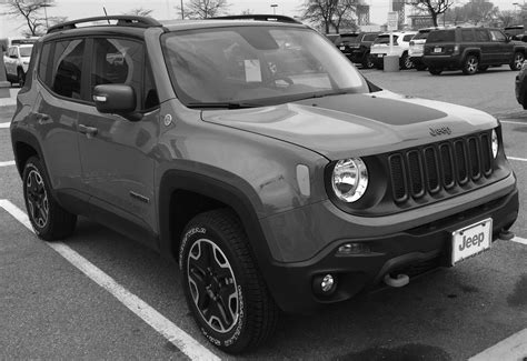 gray jeep renegade my 2016 jeep renegade trailhawk 4x4 anvil color youtube
