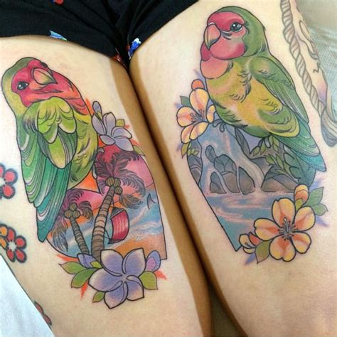 love bird tattoos for couples the 25 best lovebird ideas on