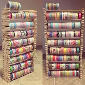 what is washi used for creative way to store your washi this craft uses stacked