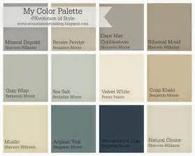 home interior color palettes related keywords