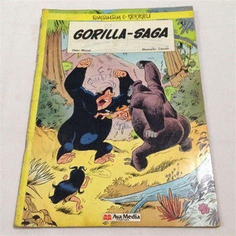 Komik Papa Nick Aya Media ramtamtam kierikieli gorilla saga mazel cauvin aya media 1987 c2