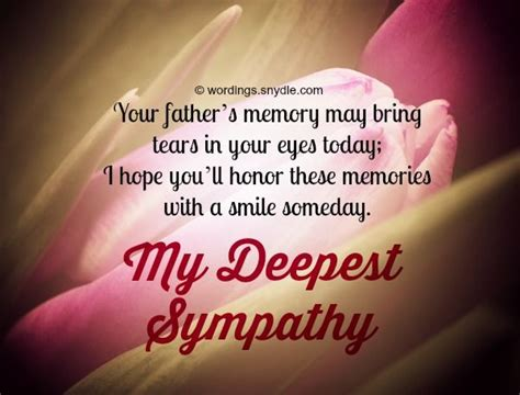 comforting words for death of father 17 best ideas about condolences messages for loss on