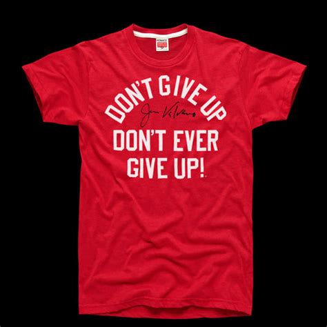 T Shirt Dont Give Up homage don t give up t shirt great lakes prep