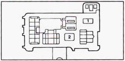 geo prizm   fuse box diagram auto genius