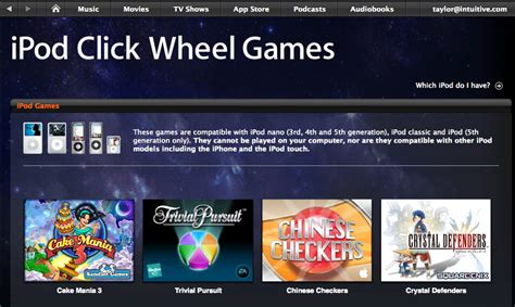 how do i buy a game for my apple ipod ask dave taylor - How To Buy A Game With An Itunes Gift Card