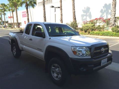 2011 Toyota Tacoma Access Cab Buy Used 2011 Toyota Tacoma 2wd Access Cab Prerunner V6 In