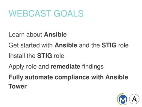 security automation with ansible 2 leverage ansible 2 to automate complex security tasks like application security network security and malware analysis books stig compliance and remediation with ansible