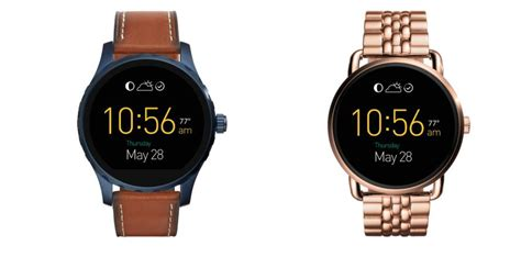 Fossil Qmarshall the fossil q marshall and wander android wear watches potential geekdad