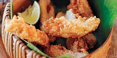 membuat makanan yang ringan resep pisang goreng wijen singapura vemale com