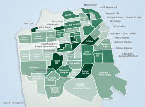 Map Of San Francisco Districts by Map Of Districts Of San Francisco Images