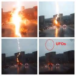 Lightning Strikes Car In Russia Ufo Sightings Daily Ufos Seen A Second After Lightning