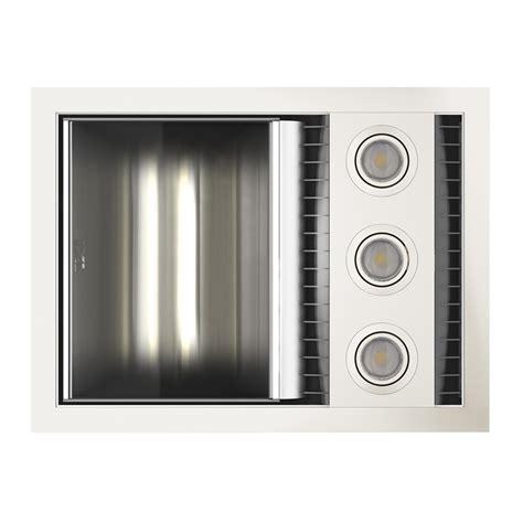 3 In 1 Bathroom Light Ixl Tastic White Neo Single 3 In 1 Bathroom Fan Heater Bunnings Warehouse