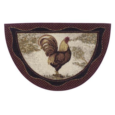 brumlow mills brumlow mills rooster novelty kitchen rug reviews wayfair