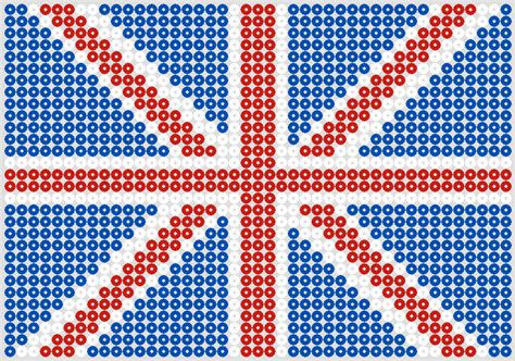 hama bead patterns royal wedding craft ideas in hama hama flag
