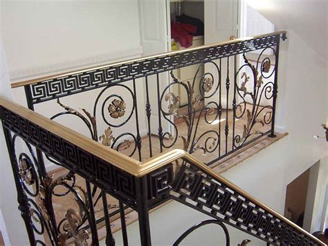 Wrought Iron Stair Railing Interior by Indoor Luxurious Iron Stair Railings Design Outdoor