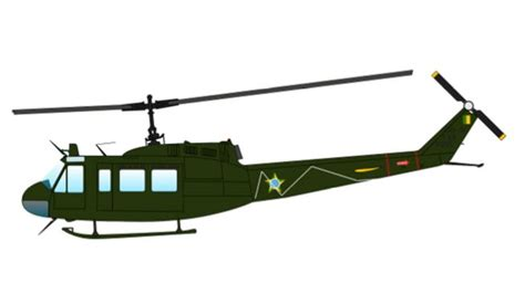 How To Make A Paper Army Helicopter - air bell uh 1h iroquois helicopter free