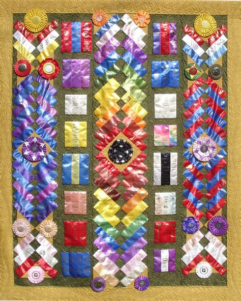 Ribbon Quilts by Ribbon Quilts On Show Ribbons Ribbons And Wall Hangings