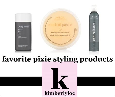 hair products for pixie cut best pixie cut hair styling products kimberlyloc