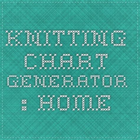 knitting pattern graph generator knitting chart generator home knit crochet tips