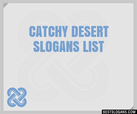 comfort in every bar slogan 30 catchy desert slogans list taglines phrases names 2018